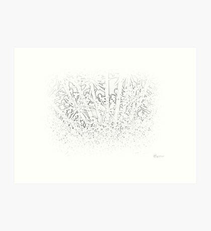 Milky Art Print