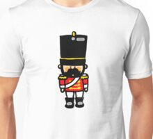 London guard toy soldier with mustache  Unisex T-Shirt