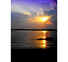 Evening Splendor on Jordan Photographic Print