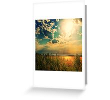 When The Angels Dance Greeting Card
