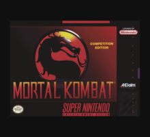 Mortal Kombat Super Nintendo NES Box cover  by ruter