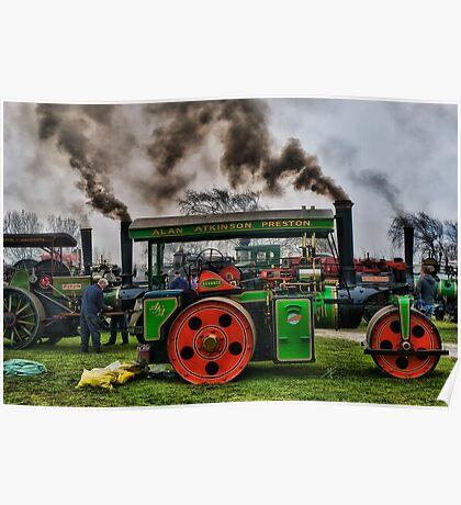 Riverside Steam Rally Poster