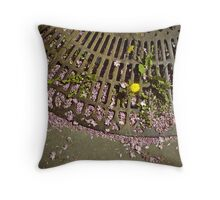 Spring in Paris Throw Pillow