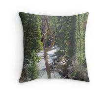 Can Opener Tree Throw Pillow