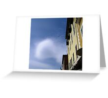 Lenticular Cloud Greeting Card