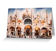 San Marco Cathedral, Venice, Italy Greeting Card
