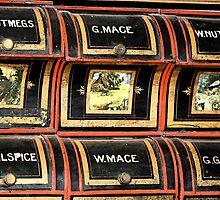 Spice rack 1 - Nostalgia by Irene Walters