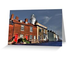 The Pub & the Lighthouse Greeting Card