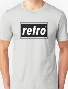 Retro - Black  T-Shirt