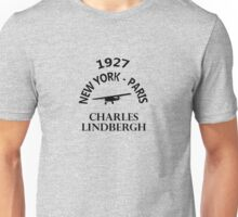 Charles Lindbergh Unisex T-Shirt