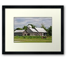 Weathered with Age Framed Print