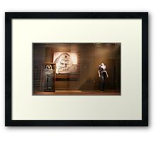 Levi Then And Now Framed Print