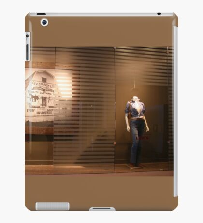 Levi Then And Now iPad Case/Skin