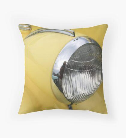 """Headlight"" Throw Pillow"