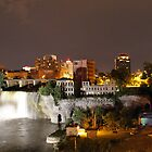 Rochester NY High falls by katievphotos
