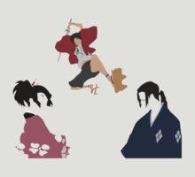 samurai champloo mugen fuu jin anime manga shirt by ToDum2Lov3