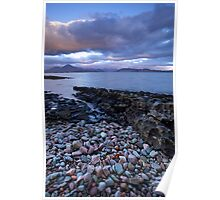Dawn at Broadford Bay, Scotland Poster