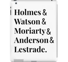 Sherlock Inspired Design iPad Case/Skin