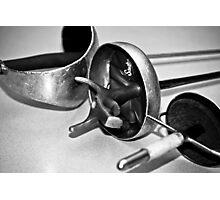 Fencing Swords Photographic Print