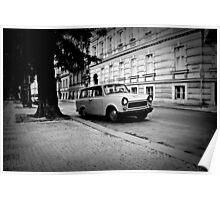 """Trabant"" in Prague - 2009 Poster"