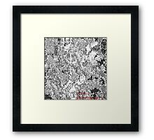 ( OILSPILL 7 )   ERIC WHITEMAN  ART  Framed Print