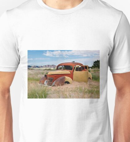 remains of a classic car Unisex T-Shirt