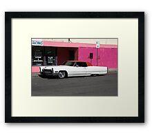 Cadillac Low Framed Print