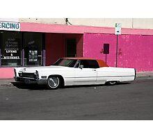 Cadillac Low Photographic Print