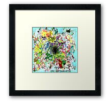 ( LOTS  OF  CRYSTALS )   ERIC   WHITEMAN ART  Framed Print