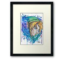 Galaxy Link Streetart Tshirts + More ' Legend of Zelda ' Jonny2may Framed Print