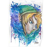 Galaxy Link Streetart Tshirts + More ' Legend of Zelda ' Jonny2may Poster