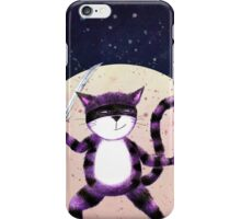 NINJA CAT iPhone Case/Skin