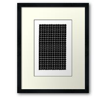 patterns and tessellations  Framed Print
