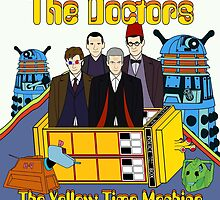 The Yellow Time Machine by PaulMonj