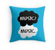 Music - TFIOS  Throw Pillow