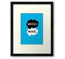 Music - TFIOS  Framed Print