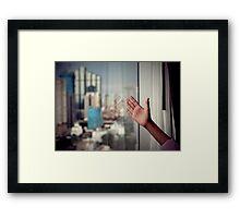 Showing me Framed Print