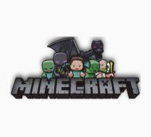 Minecraft Logo Kids Clothes