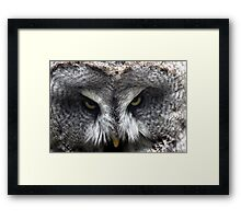 As I was saying Framed Print