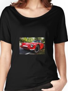 Classic sports car  Women's Relaxed Fit T-Shirt
