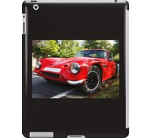 Classic sports car  iPad Case/Skin
