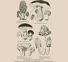 Retro cookbook mushroom illustration Unisex T-Shirt