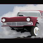 57 FORD GASSER by COLIN TRESADERN