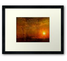 Just Another Ordinary Miracle Framed Print