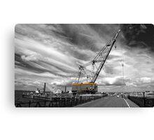 Ryde a big crane..! Canvas Print