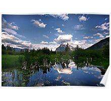 Vermillion Lakes, Banff NP Poster