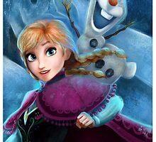 Anna Frozen by AnMNiniel
