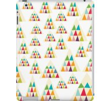 Geometric Multicolor Triangle Pattern iPad Case/Skin