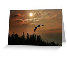 Silent Sunrise Greeting Card