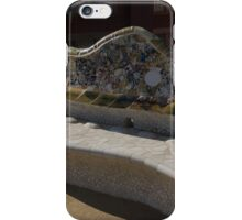 Gaudi's Park Guell Sinuous Curves  iPhone Case/Skin